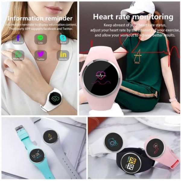 Sfpw-4 fitness smart pedometer health activity monitor pulsometer bp bluetooth bracelet watch
