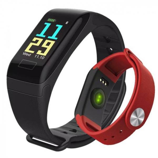 Sfpw-1 fitness smart pedometer health monitor pulsometer bp bluetooth bracelet watch