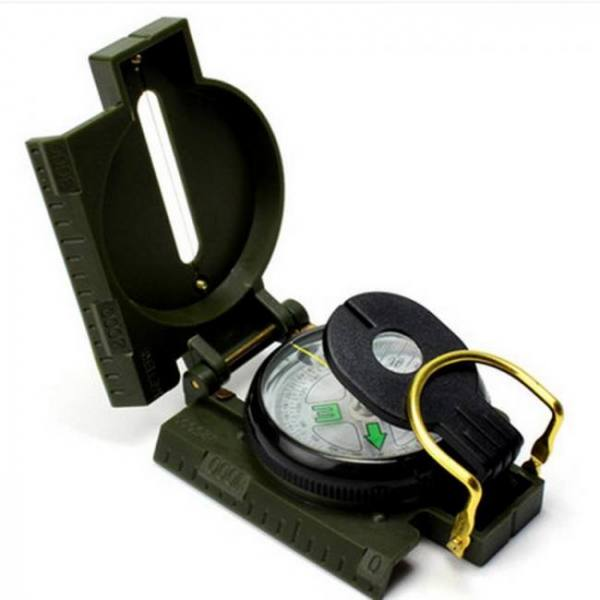 Lc-3 military style lensatic survival hiking emergency compass