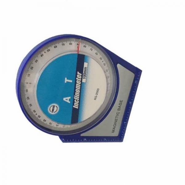 Pg2000 professional magnetic protractor tilt level angle finder inclinometer with magnetic base