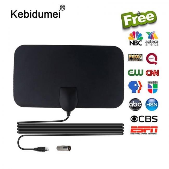4K 25dB High Gain HDTV DTV Digital TV Antenna
