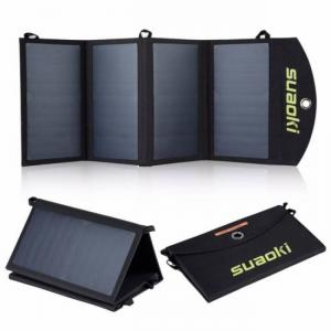FREE SHIPPING 25W Portable Folding Foldable Waterproof Solar Panel Power Charger 25W