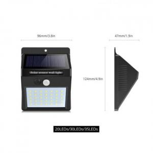 Night light solar powered led wall lamp motion sensor solar light garden