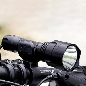 Biking Flashlight with Rechargeable Battery Warterproof Design Led Hunting Lanterna Lamp BicycleAccessory