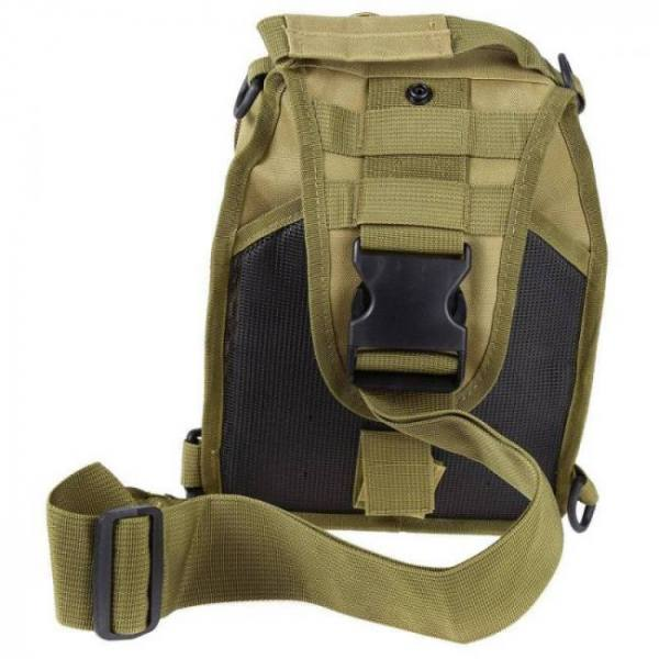 Outdoor sports shoulder military camping hiking bag