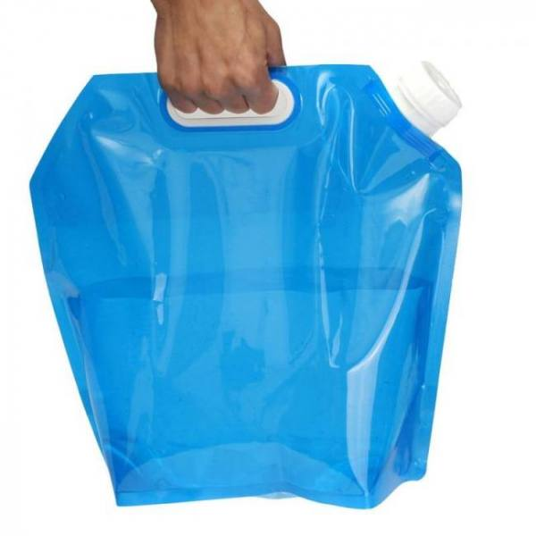 5l folding water storage collapsible lifting bag portable