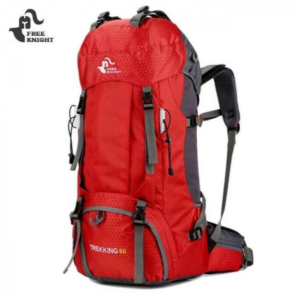 Backpacks 60L / 50L Camping Hiking Backpacks Nylon Outdoor Travel Bag 600D