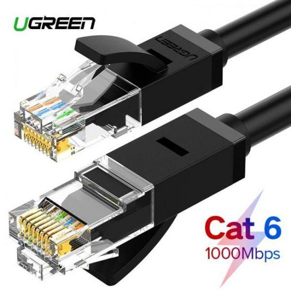 Connect Ugreen Ethernet Cable Cat6 UTP RJ 45 Lan Network Patch Cable 10m/50m/100m 10m50m100m