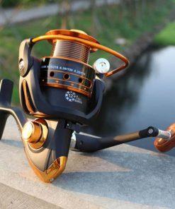 Metal fishing wheel reel 12bb + 1 bearing balls