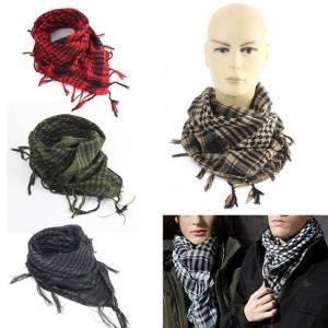 100x100cm outdoor scarves unisex arab desert scarf tassel