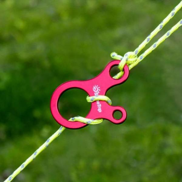 Camp & Survive Quick Knot Tent Wind Rope Buckle 3 hole Antislip Antislip
