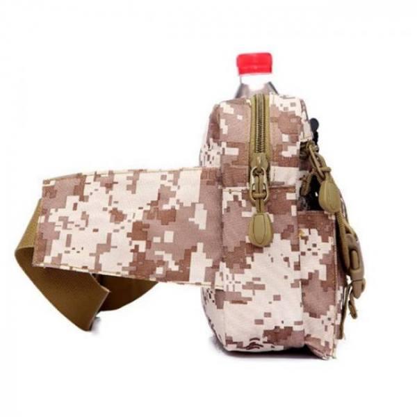 Outdoor military tactical shoulder bag waterproof waist pack bag