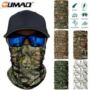3d jungle tree camo neck gaiter face shield bandana mask