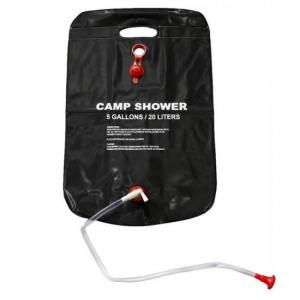 20l water bag foldable solar energy heated outdoor pvc shower bag water storage