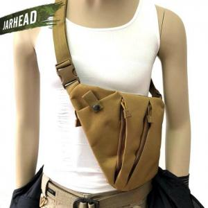 Multifunctional concealed tactical storage gun bag holster shoulder bag