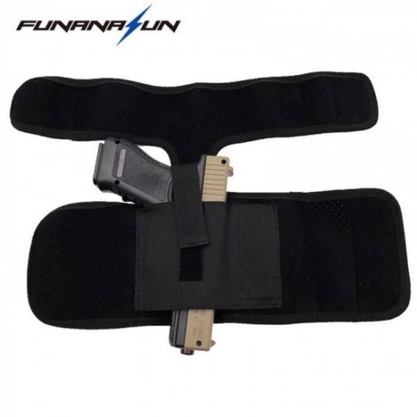Camp & Survive Ankle Elastic Secure Strap Leg Concealed Carry Pistol Gun Holster Ankle