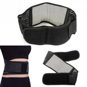 Tourmaline self-heating magnetic therapy waist support belt
