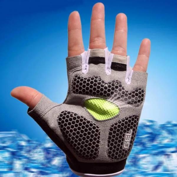 Biking Sports 3D Gel Padded Anti-Slip Unisex Gloves 3D