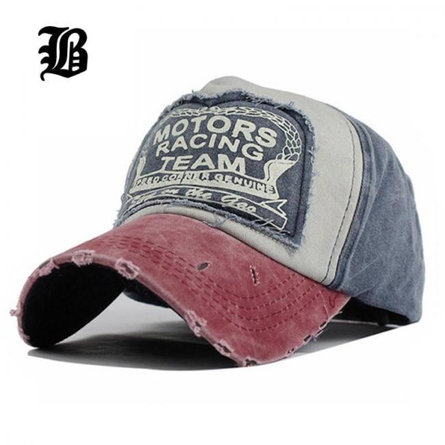Cotton baseball snapback summer cap men women