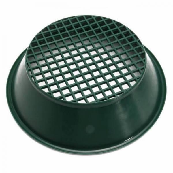 Green gold sifting panning pan classifier 13.4″
