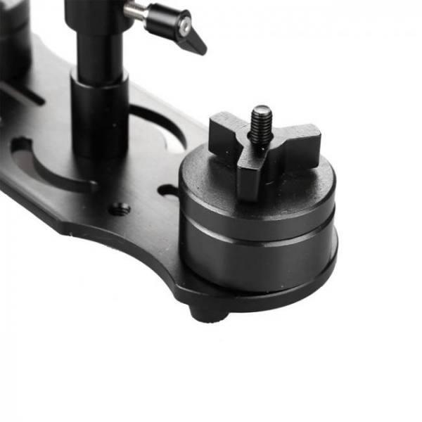 Accessories S40+ Aluminum Alloy Handheld Steadycam Stabilizer for Canon Nikon DSLR Video Camera Alloy
