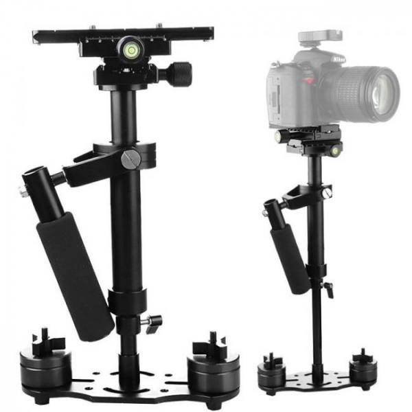 S40+ aluminum alloy handheld steadycam stabilizer for canon nikon dslr video camera