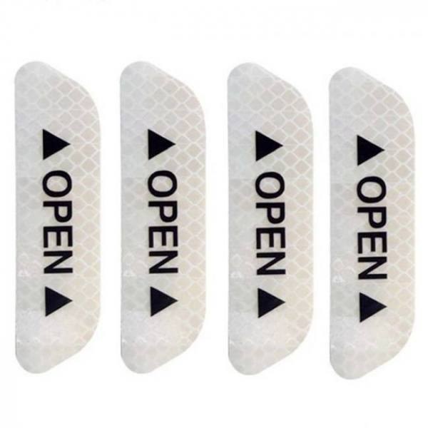 Car open safety fluorescent reflective warning mark tape