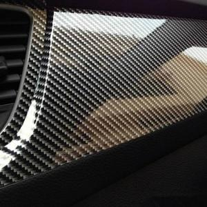 5d high glossy carbon fiber vinyl film car motorcycle styling wrap