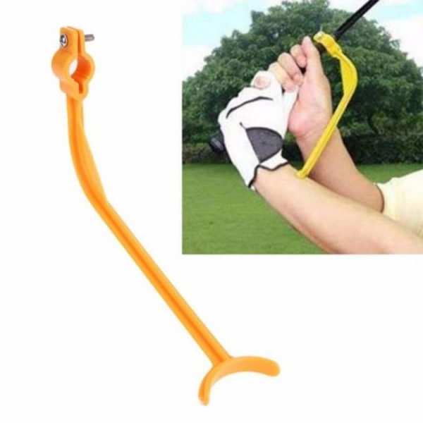 FREE SHIPPING Practice Guide Golf Swing Trainer Beginner Alignment Clubs Gesture Correct Wrist Training Aids Tool Accessories