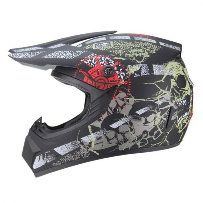 Motorcycle adult motocross atv dirt bike downhill mtb  off road helmet