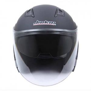 Motorcycle open face helmet