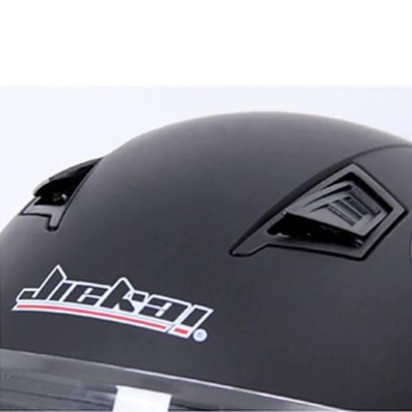 Motorcycle open face helmet