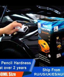 Rising star rsaccs01 liquid glass 9h nano hydrophobic ceramic coating car care anti-scratch 30ml kit