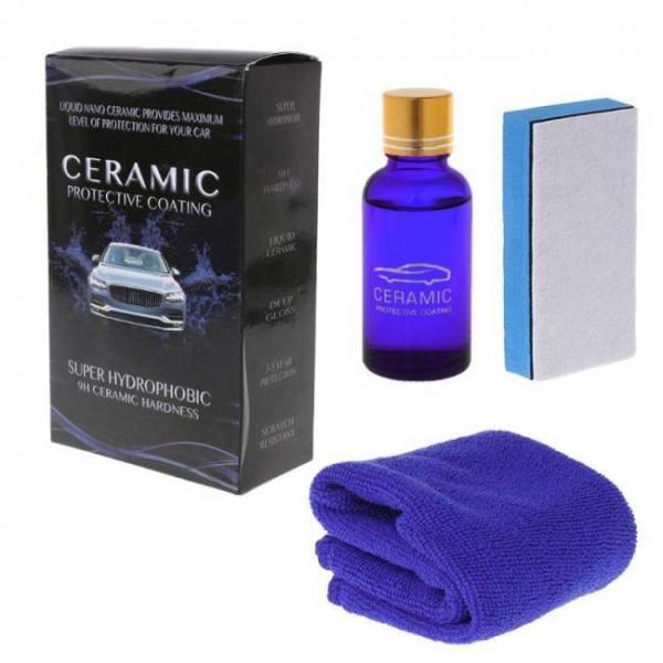 Liquid glass 9h nano hydrophobic ceramic coating car care anti-scratch 30ml kit