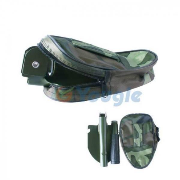 Camp & Survive Mini Multi-function Folding Shovel Survival Trowel Dibble Pick Camping Outdoor Garden Tool Camping