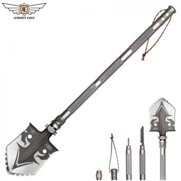 Eagle professional outdoor survival tactical multifunctional shovel folding tools garden camping equipment army tool