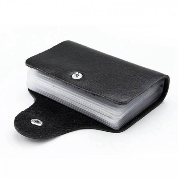 FREE SHIPPING Fashion PU Leather Function 24 Bits Card Case Business Card Holder Men Women Credit Passport Card Bag ID Passport Card Wallet Free shipping