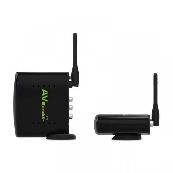 Koqit 24group ch 5.8g wireless av extended 150m sender transmitter receiver for cctv camera satellite receiver digital tv box
