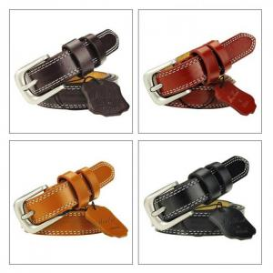 Top quality cowhide leather belts for women cummerbund luxury female belt decorative simple waist belt candy color drop shipping
