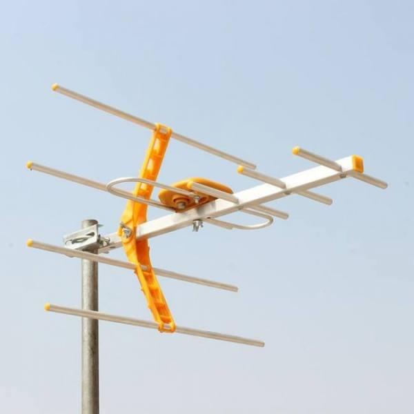 FREE SHIPPING HD Digital Outdoor TV Antenna For DVBT2 HDTV ISDBT ATSC High Gain Strong Signal Outdoor TV Antenna Free shipping