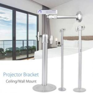 FREE SHIPPING Cewaal Premium 22CM Projector Wall Support Ceiling Bracket Projector Hanger Holder Aluminum Projection Mount Accessories bracket