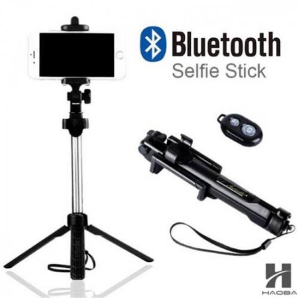 Accessories FGHGF T1 Tripod Monopod Selfie Stick Bluetooth With Button Pau De Palo selfie stick for iphone 6 7 8 plus Android stick Free shipping