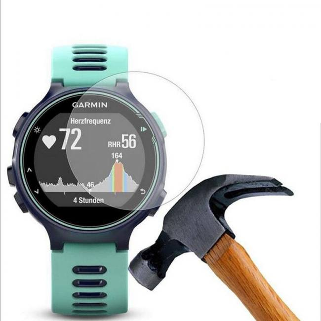 Tempered Glass Protective Film Clear Guard For Garmin Forerunner 220