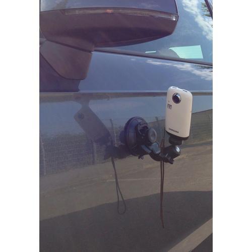 Car window camera holder mount tripod stable