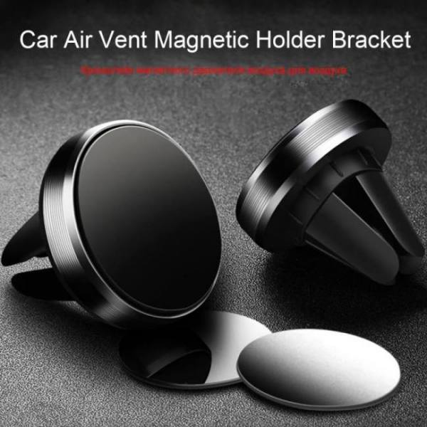 FREE SHIPPING Magnetic Phone Holder on Xiaomi Pocophone F1 Huawei Car GPS Air Vent Mount Magnet Cell Phone Stand Holder for iPhone 7 Samsung Android
