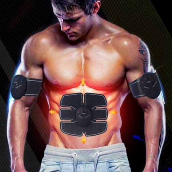 Ems wireless muscle stimulator trainer smart fitness abdominal training pulser