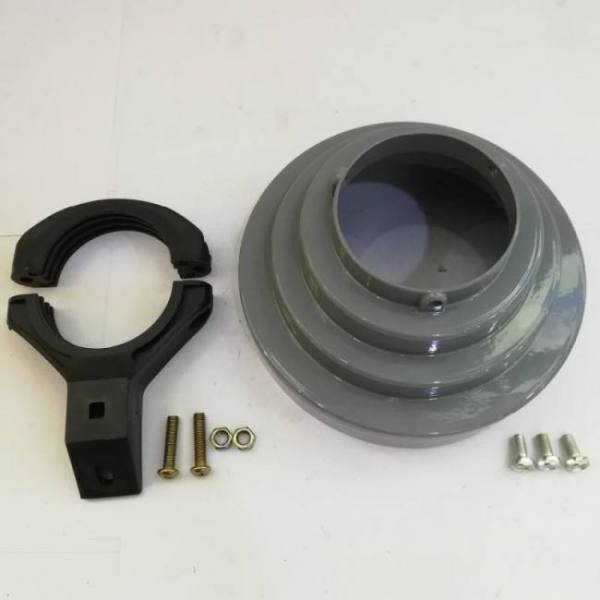 C-Band Conical scalar ring cone and c band lnb holder for offset KU band dishes Aluminum