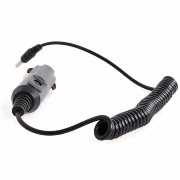 Car Motorbike 12V Car Charger DC Power Adapter Sockets Cigarette Lighter 1.5M Cable 3.5mm x 1.35mm 12V