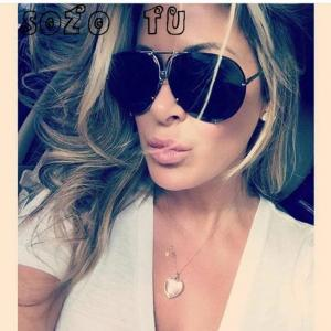 Sozo tu oversize sunglass women rimless big sunglasses women ladies large aviation sunglasses female oversized glasses