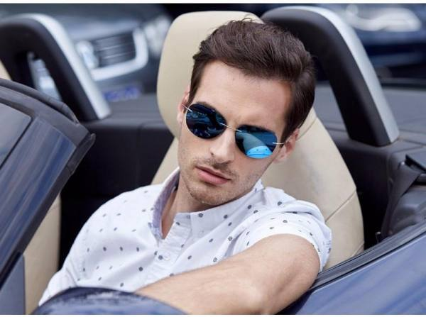 Car Motorbike JackJad New Fashion Men Driving Ultralight Titanium Polarized Sunglasses Brand Design Rimless Aviation Sun Glasses Oculos De Sol American